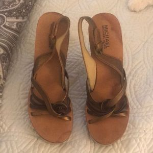 Michael Kors Shoes - Michael Keira strapped sandals